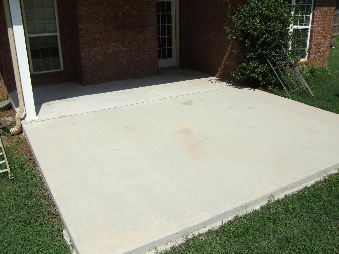 Ugly concrete patio ideas modern patio outdoor for Large patio design ideas