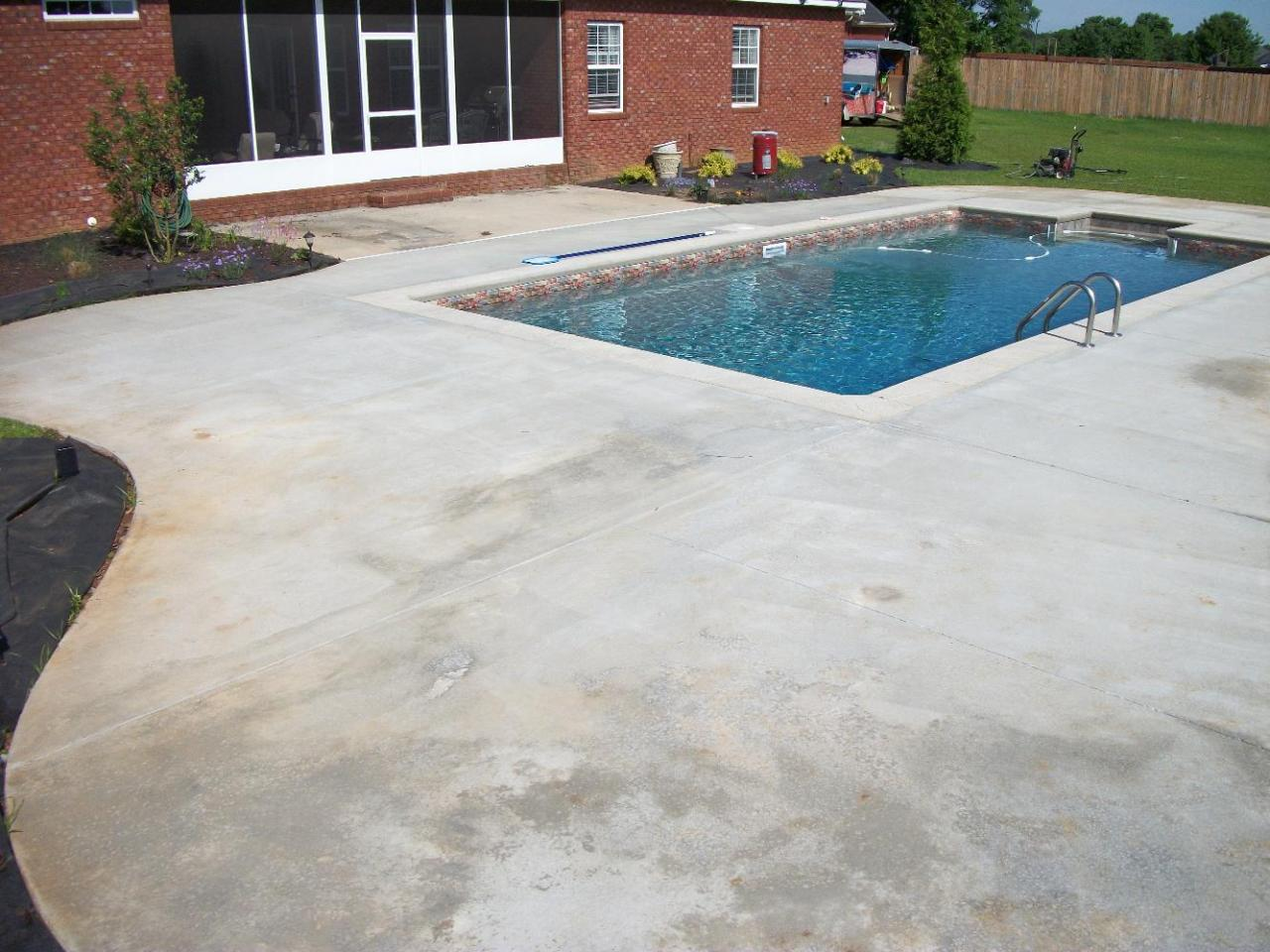 Concrete Pool Decks Photo Gallery Southern Concrete Designs Llc  Photo Gallery 3